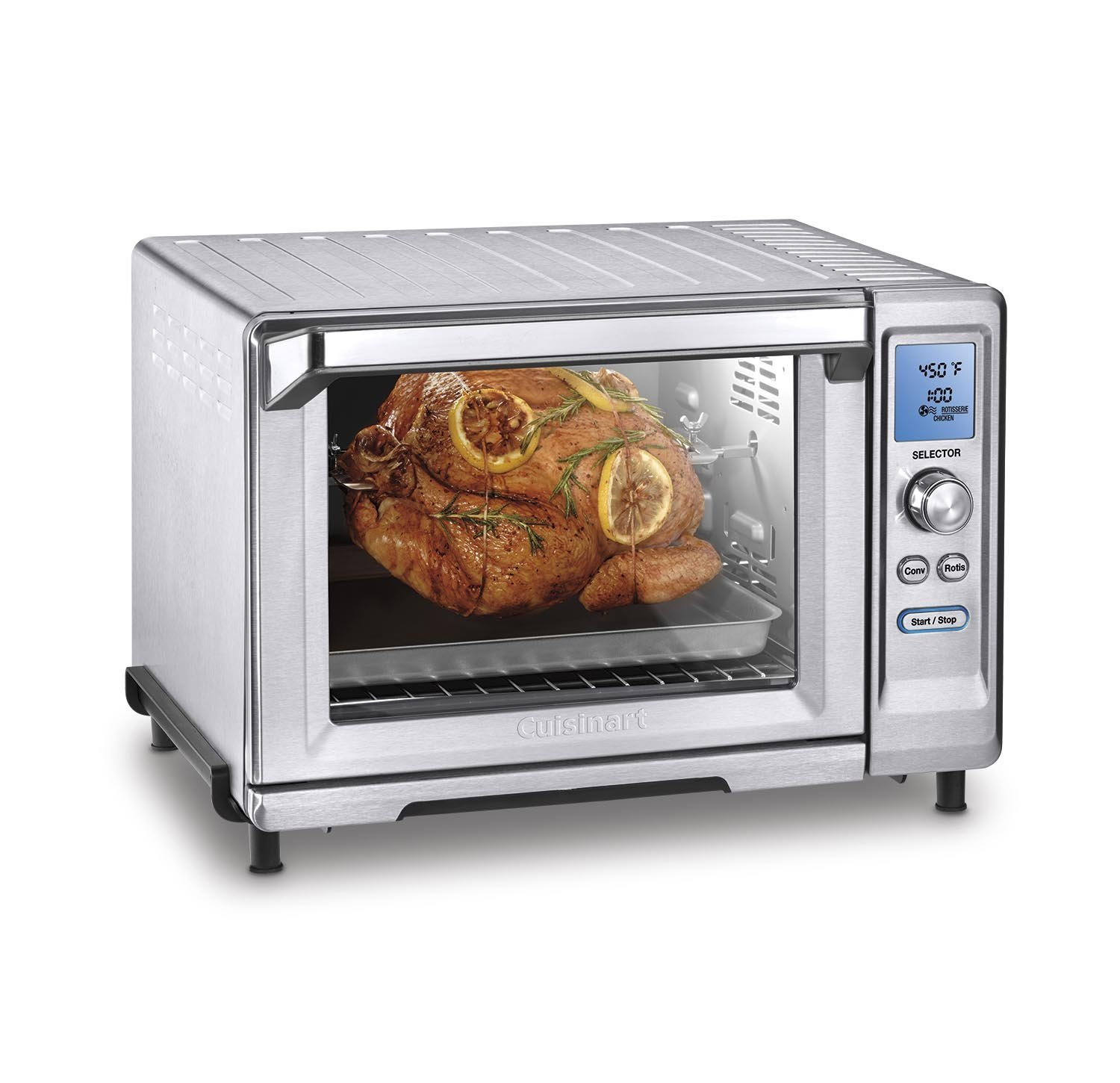Countertop Convection Oven With Burners On Top : Cuisinart TOB-200 Rotisserie Convection Toaster Oven Review